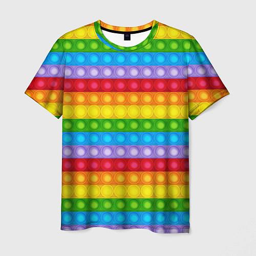 Мужская футболка Pop It / 3D-принт – фото 1