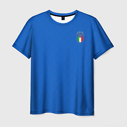 Футболка мужская Форма сборной Италии цвета 3D-принт — фото 1