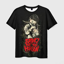 Мужская 3D-футболка с принтом Bring Me The Horizon, цвет: 3D, артикул: 10073644103301 — фото 1