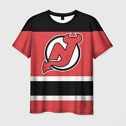 Футболка мужская New Jersey Devils цвета 3D — фото 1