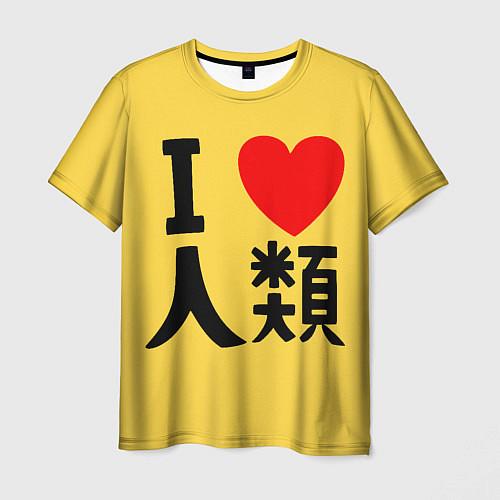 Мужская футболка No game no life Sora / 3D – фото 1