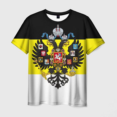 Мужская футболка Имперский Флаг / 3D – фото 1