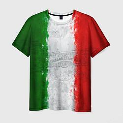 Мужская 3D-футболка с принтом Italian, цвет: 3D, артикул: 10093567703301 — фото 1