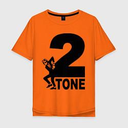 Мужская футболка оверсайз 2tone