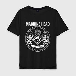 Футболка оверсайз мужская Machine Head MCMXCII цвета черный — фото 1