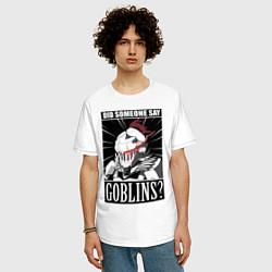 Футболка оверсайз мужская Убийца гоблинов 9 цвета белый — фото 2