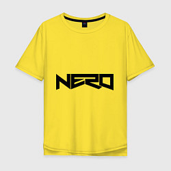 Мужская футболка оверсайз Nero