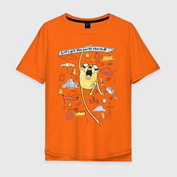 Мужская футболка оверсайз Happy Jake