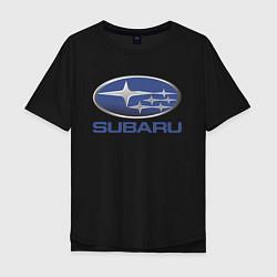 Мужская футболка оверсайз SUBARU