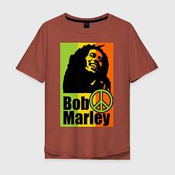 Мужская футболка оверсайз Bob Marley: Jamaica