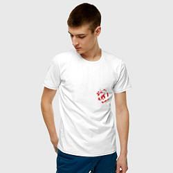 Футболка хлопковая мужская Кукрыниксы цвета белый — фото 2