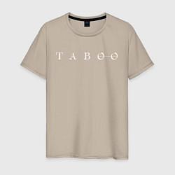Футболка хлопковая мужская Taboo цвета миндальный — фото 1