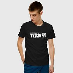 Футболка хлопковая мужская ESCAPE FROM TARKOV цвета черный — фото 2