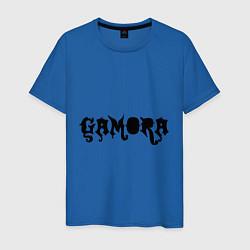 Футболка хлопковая мужская Gamora цвета синий — фото 1