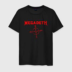 Футболка хлопковая мужская Megadeth цвета черный — фото 1