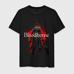 Футболка хлопковая мужская Bloodborne цвета черный — фото 1