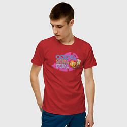 Футболка хлопковая мужская Ocean Sun Fun цвета красный — фото 2