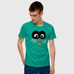Футболка хлопковая мужская The Incredibles цвета зеленый — фото 2