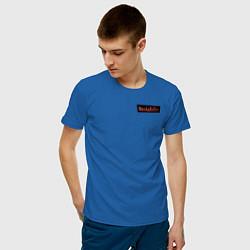 Футболка хлопковая мужская WandaVision цвета синий — фото 2