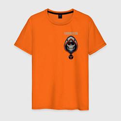 Футболка хлопковая мужская Taskmaster цвета оранжевый — фото 1