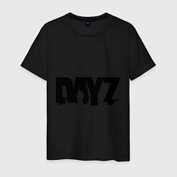 Футболка хлопковая мужская DayZ цвета черный — фото 1