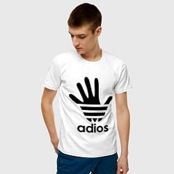 Футболка хлопковая мужская Adios - фото 2