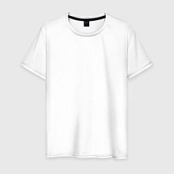 Футболка хлопковая мужская Kasabian цвета белый — фото 1