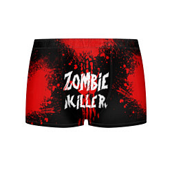 Трусы-боксеры мужские Zombie Killer цвета 3D-принт — фото 1