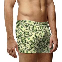 Трусы-боксеры мужские Benjamin Franklin цвета 3D-принт — фото 2