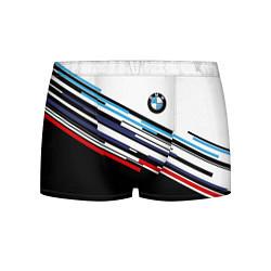 Мужские 3D-трусы боксеры с принтом BMW BRAND COLOR, цвет: 3D, артикул: 10146542903997 — фото 1