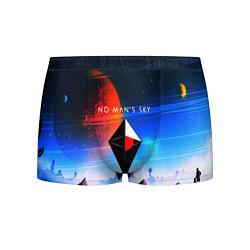 Трусы-боксеры мужские No Man's Sky: Galaxy цвета 3D — фото 1