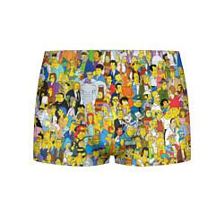 Трусы-боксеры мужские Simpsons Stories цвета 3D — фото 1