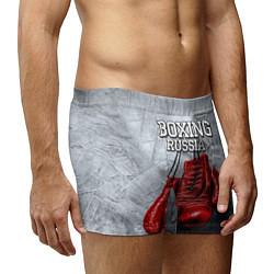 Трусы-боксеры мужские Boxing Russia цвета 3D — фото 2