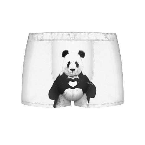 Мужские трусы Panda Love / 3D – фото 1