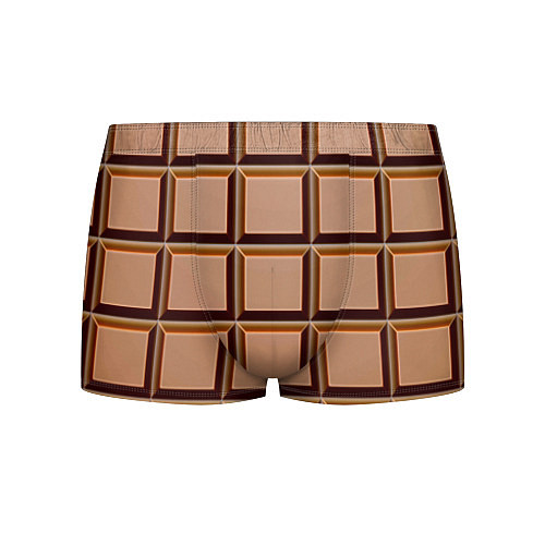Мужские трусы Шоколад / 3D – фото 1
