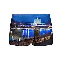 Трусы-боксеры мужские Москва цвета 3D-принт — фото 1