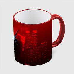 Кружка 3D Hitman: Red Blood цвета 3D-красный кант — фото 1