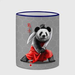 Кружка 3D Master Panda цвета 3D-синий кант — фото 2