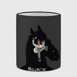 Кружка 3D Bojack Horseman цвета 3D-черный кант — фото 2