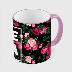 Кружка 3D Лера цвета 3D-розовый кант — фото 1