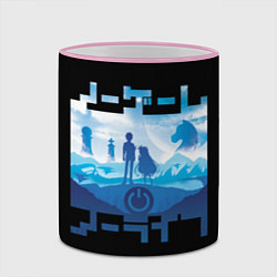 Кружка 3D No Game No Life цвета 3D-розовый кант — фото 2