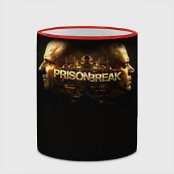 Кружка 3D Prison break цвета 3D-красный кант — фото 2