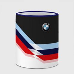 Кружка 3D BMW M SPORT цвета 3D-синий кант — фото 2