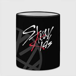 Кружка 3D Stray Kids цвета 3D-черный кант — фото 2