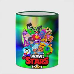Кружка 3D BRAWL STARS цвета 3D-зеленый кант — фото 2