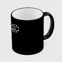 Кружка 3D RAMMSTEIN цвета 3D-черный кант — фото 1