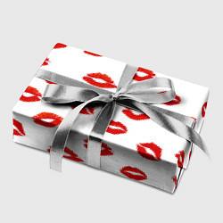 Бумага для упаковки Поцелуйчики цвета 3D-принт — фото 2