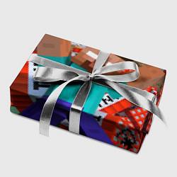 Бумага для упаковки Minecraft Man цвета 3D — фото 2