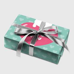 Бумага для упаковки Rabbit: Love you цвета 3D-принт — фото 2