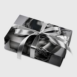 Бумага для упаковки Девушка с цепью цвета 3D — фото 2